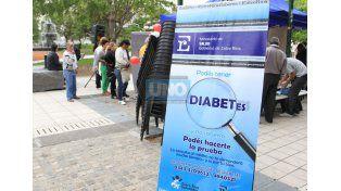 Diabetes. Existe legislación nacional y provincial específica para asistir a quienes la padecen.  (Foto UNO/Diego Arias)