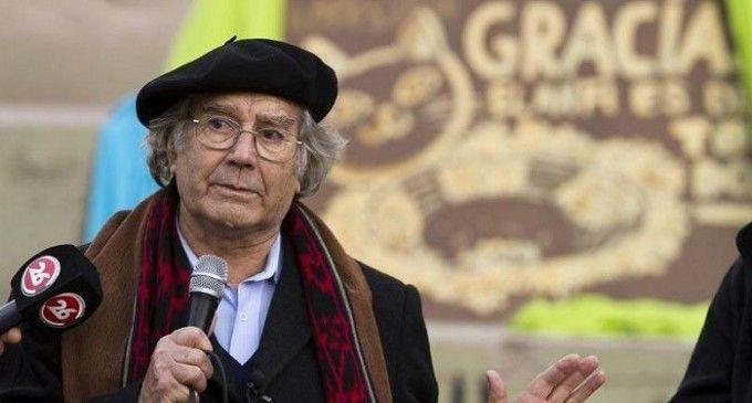 Pérez Esquivel visitó a Milagro Sala y dijo que hay una condena antes del juicio