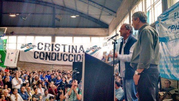 Scioli pidió que se respete la voluntad popular del 49%