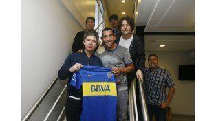 Noel Gallagher pisó La Bombonera y se reencontró con Tevez en La Boca