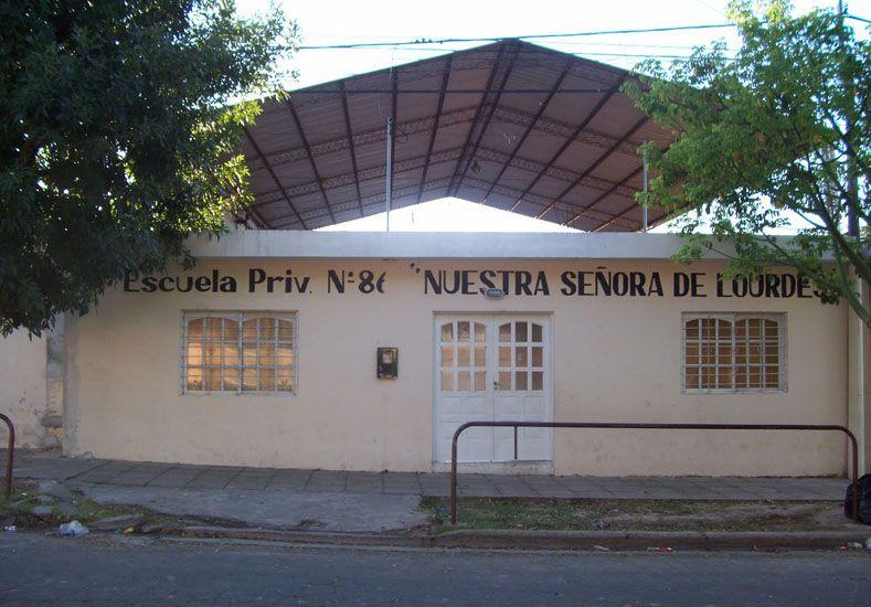 Escuela Nuestra Señora de Lourdes. Foto: Internet