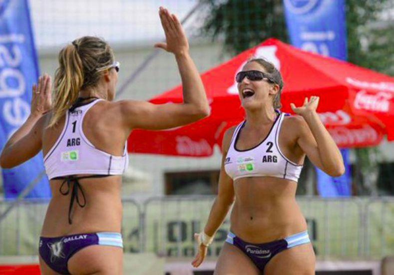 La entrerriana Ana Gallay y Klug a paso firme en Brasil