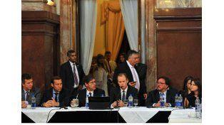 Bordet pidió a los senadores nacionales que acompañen el acuerdo con los fondos buitres