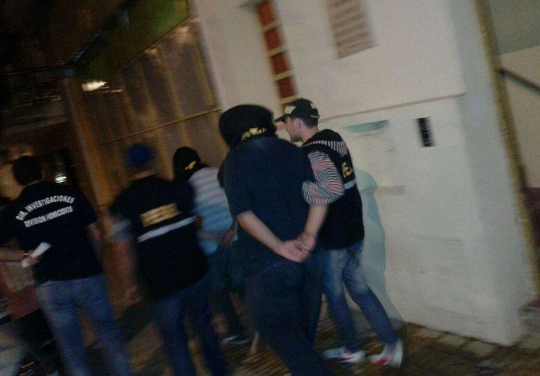 Detuvieron a cinco personas en barrio El Morro