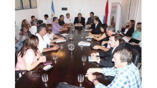 La negociación continuará el viernes 18. Foto: APF