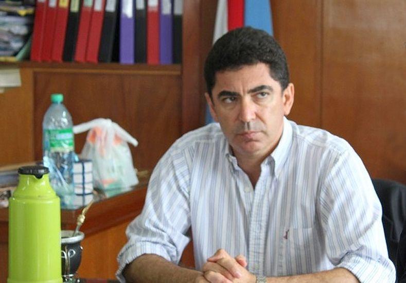 Panozzo apura el acuerdo con los docentes. (Foto: Prensa Gobernación)