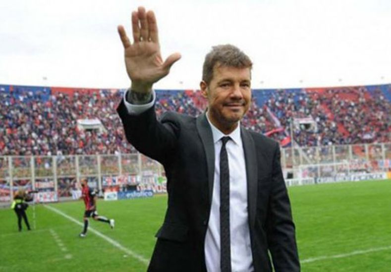 Tinelli le dejó un mensaje a los fanáticos de San Lorenzo