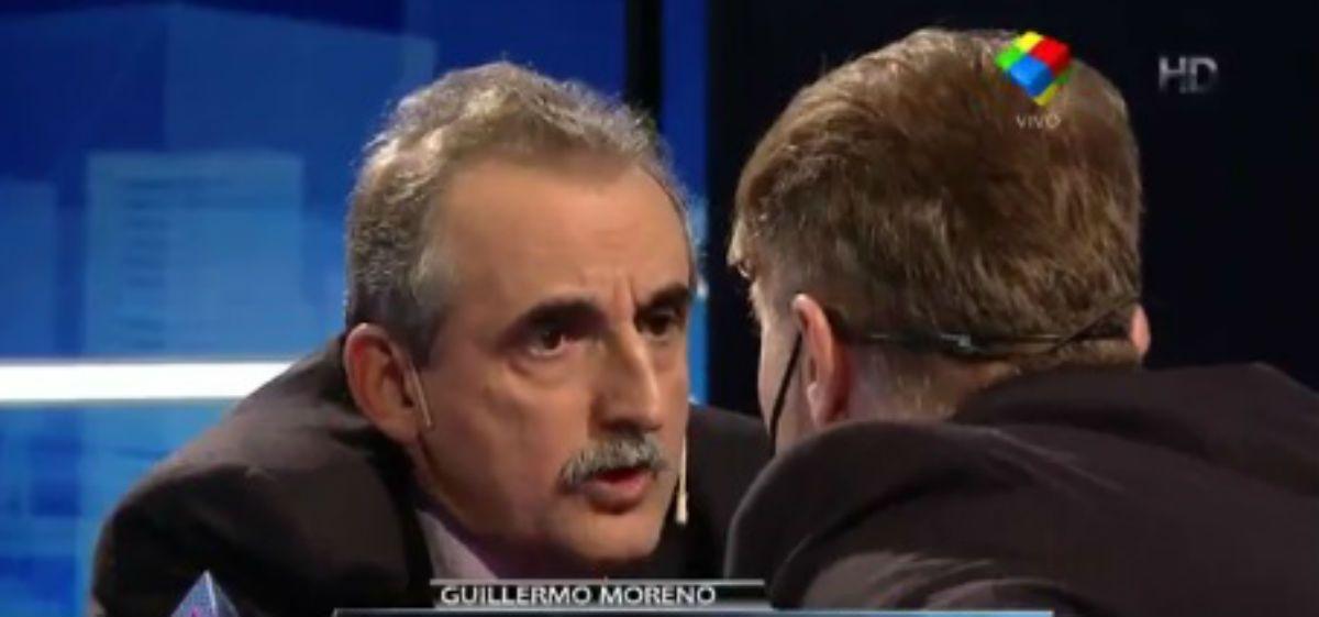 Momentos inolvidables de la tensa entrevista de Fantino a Guillermo Moreno