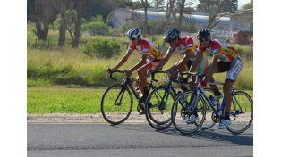 Semillero. Nicolás pertenece a la Escuela Municipal de Ciclismo y al equipo Telefónicos Gobierno de Entre Ríos.