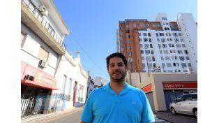 """Descontrol. """"La construcción clandestina inevitablemente empobrece la imagen de la ciudad"""". Foto UNO/ Diego Arias"""