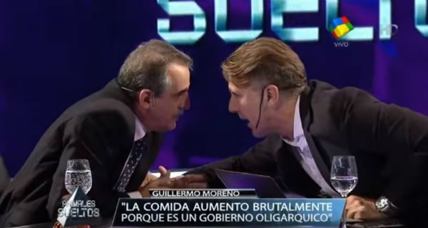 Las frases más destacadas de la entrevista cara a cara de Fantino a Guillermo Moreno