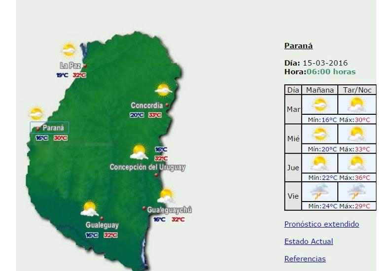 Pronostican días calurosos por lo menos hasta el jueves