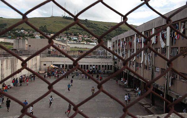 Gericinó. Uno de los patios internos del complejo penitenciario de Bangú