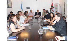 El gobierno recibió a ATE y UPCN. (Foto: Prensa Gobernación)
