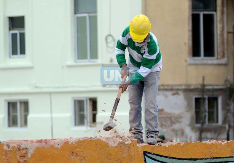 Pilar. La actividad de la construcción influye y dinamiza otros rubros y sectores de la economía. (Foto UNO/Archivo)