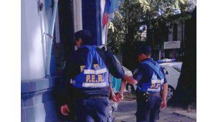 El detenido quedó a disposición de la Unidad Fiscal de Colón. Foto Departamental de Colón.