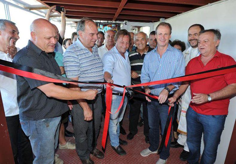 Se inauguraron los nuevos palcos del estadio rojinegro
