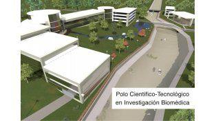 Los planos del Polo que se instalará en el barrio Thompson de Paraná. Fuente Sec CTI de Entre Ríos.