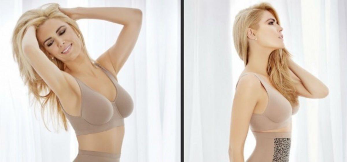 Viviana Canosa modelo de una marca de ropa interior: las fotos