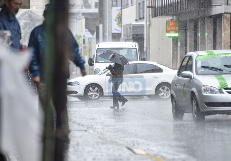 Habituales. Marzo y abril seguirán con lluvias importantes. Foto UNO/Mateo Oviedo