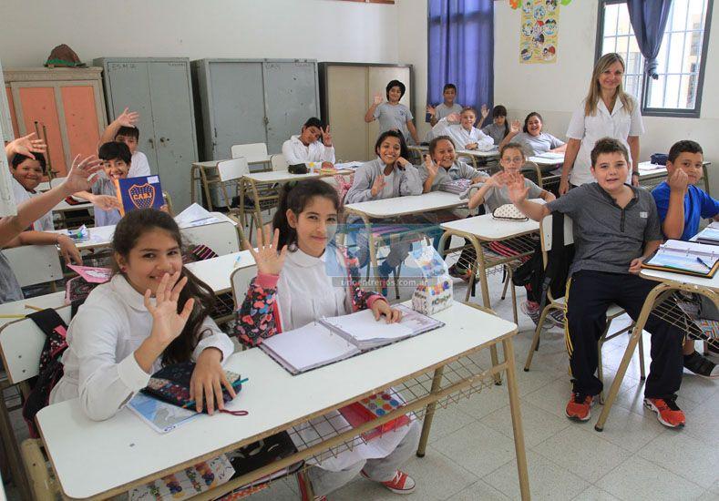Alegría. El vínculo afectivo favorece los procesos de aprendizaje.  Foto UNO/Juan Ignacio Pereira