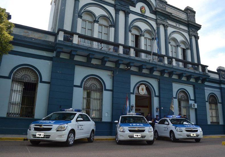 Departamental de Policía de Gualeguaychú. Foto: El Día