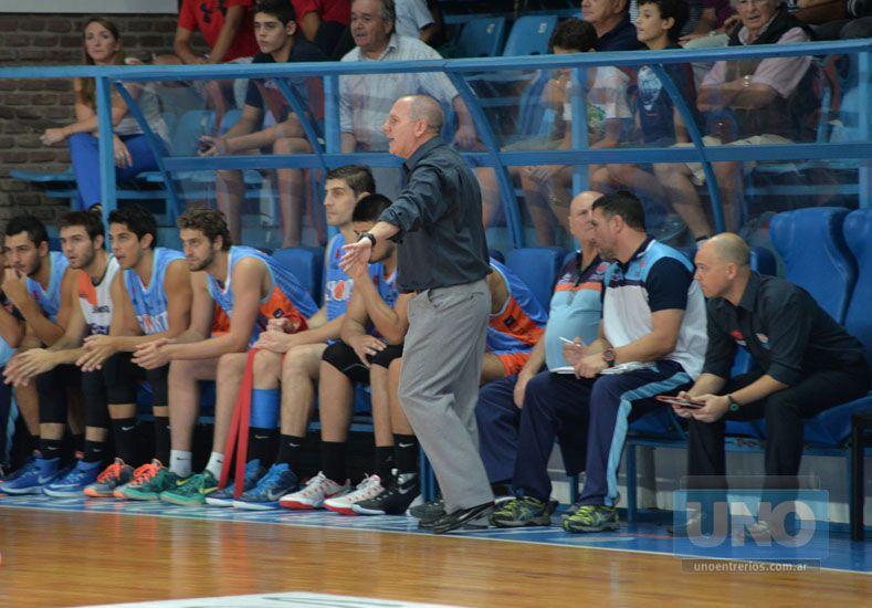 El entrenador interino