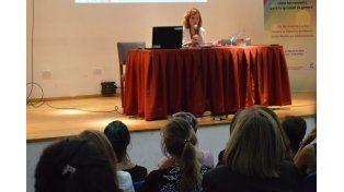 Abordaje. Sandra Chaher es presidenta de la Asociación Civil Comunicación para la Igualdad. (Foto: Gentileza/FCEUNER)