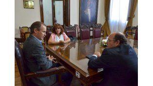 El gobernador se reunió con los diputados del bloque Unión Popular – Frente Renovador Alejandro Bahler (Concordia) y María Elena Tassistro (Gualeguay).