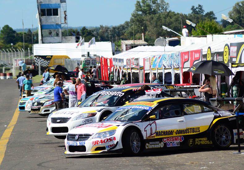 Hoy habrá dos tandas de entrenamientos para el Top Race V6 y para el Series.
