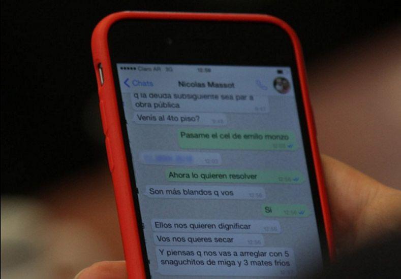 Revelan polémico chat entre Diego Bossio y Nicolás Massot