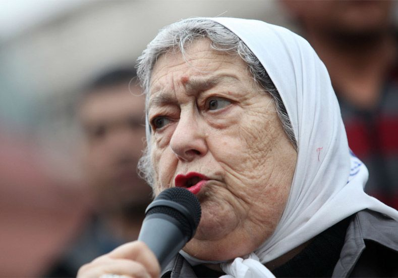 Hebe de Bonafini: Macri nos declaró la guerra a las Madres