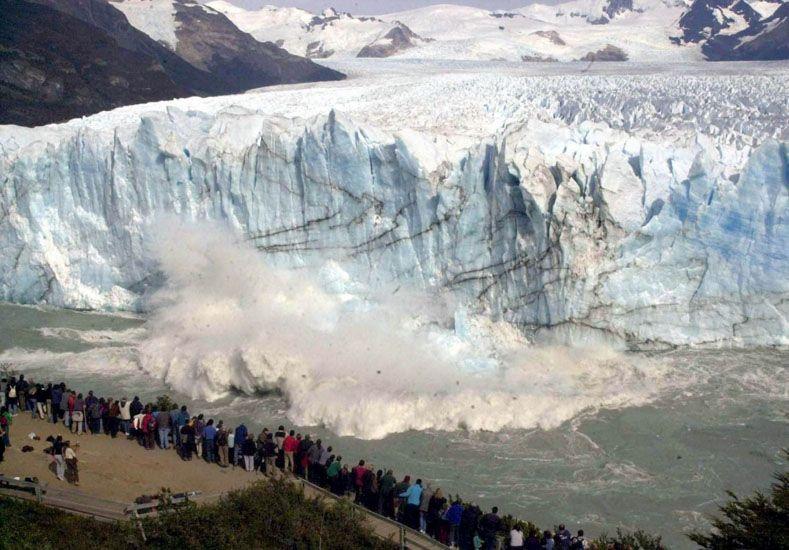 Miles de turistas viajaron a El Calafate