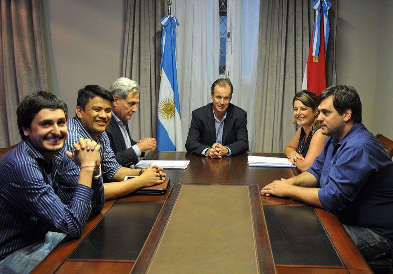 Reunión. Juan Manuel Huss
