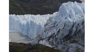 El Glaciar Perito Moreno está a punto de romperse