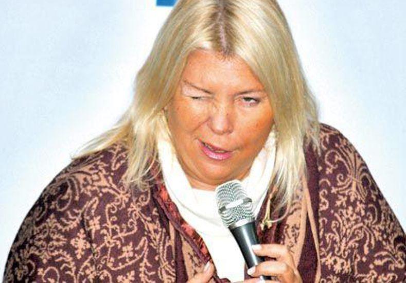 Lilita Carrió acusó a Daniel Angelici de interferir en varias causas de la Justicia