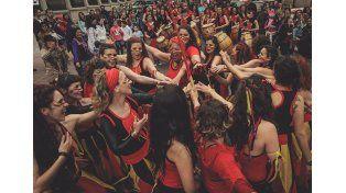 Las Dragonas se organizan para el encuentro de Mujeres Candomberas