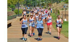 Nancy Gallo se quedó con la Maratón de la Mujer