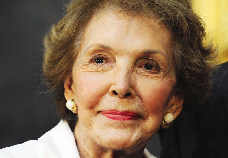 Falleció Nancy Reagan