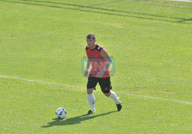 Abel Masuero jugará como lateral por derecha mañana ante Godoy Cruz en Mendoza. (Foto UNO/Juan Manuel Hernández)