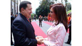 Cristina recordó a Chávez a tres años de su muerte