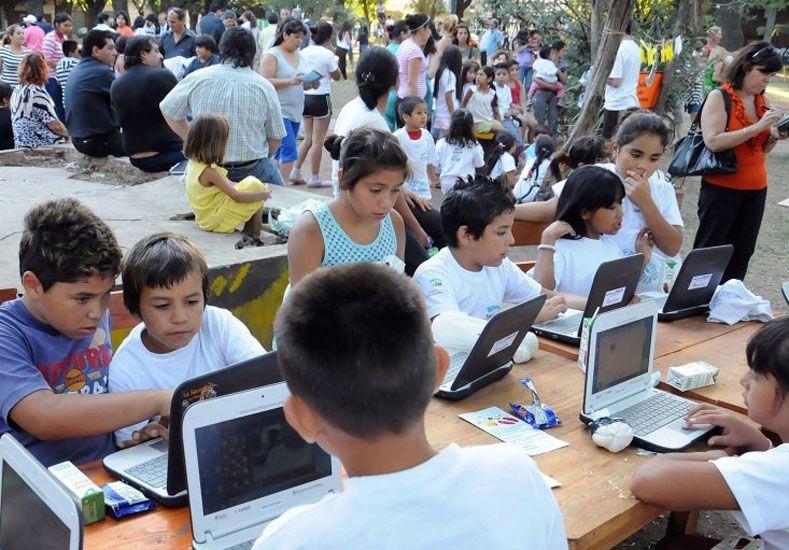Los estudiantes tienen que estar preparados para el mundo del trabajo digital. Foto /portales.educacion.gov.ar.