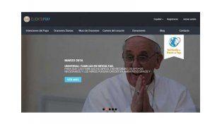 Crean una app para rezarle al Papa