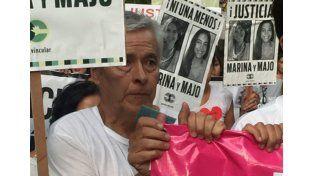 Multitudinaria marcha en Mendoza reclamando justicia por el femicidio de las mochileras