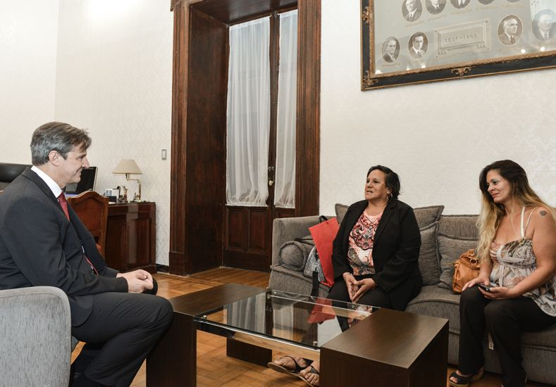 Autoridades de Ammar visitaron al vicegobernador