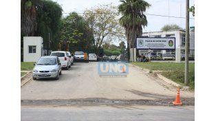 En avenida Zanni y Crisólogo Larralde de Paraná