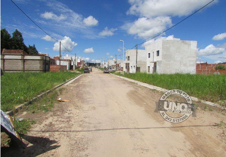 Preocupa la cantidad de robos en loteos de Procrear de avenida Zanni al 3000