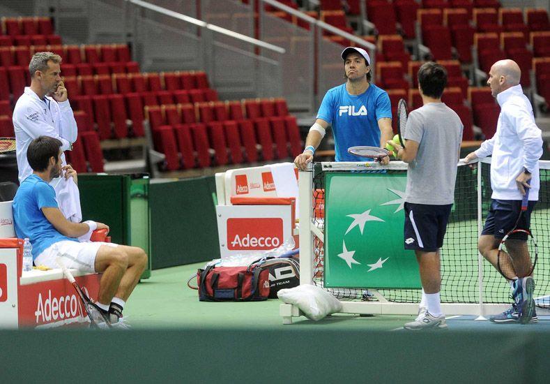 Argentina enfrenta a Polonia en la ronda inicial de la Copa Davis