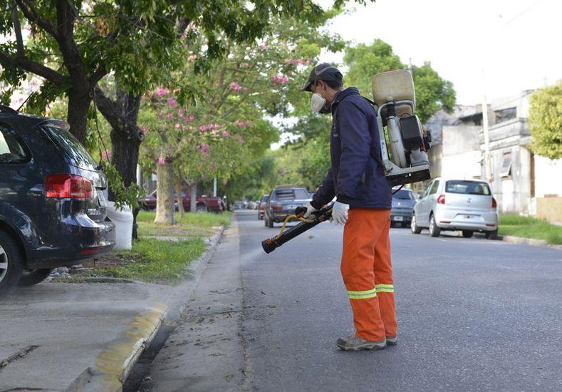 En el área de Salud están preocupados porque en la zona de calle Colón hay una importante densidad poblacional. Foto Municipalidad de Paraná.
