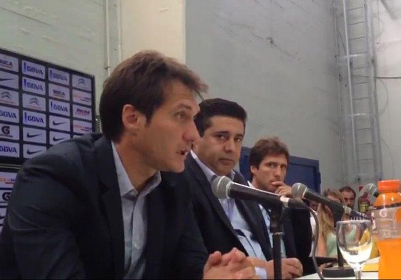 Guillermo antes de asumir recibió un llamado del representante de Carlos Tévez. Captura/ prensa Boca Juniors.
